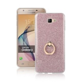 Price Samsung Galaxy J7 Prime Case Tpu Soft Sparkle Powder Back Case With 360 Degree Rotating Ring Holder Stand Case Cover For Samsung Galaxy J7 Prime Pink Intl Oem