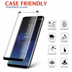 Samsung Galaxy S8 Case Friendly 3D 9H Tempered Glass Screen Protector Protective Film On Singapore