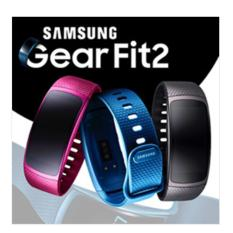 Samsung Gear Fit2 Gps Sports Band Samsung Smart Watch Black Pink Large Small Band Intl Shopping