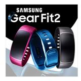 New Samsung Gear Fit2 Gps Sports Band Samsung Smart Watch Black Pink Large Small Band Intl