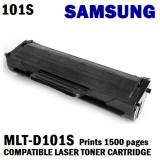 Price Samsung Mlt D101S Compatible Black Laser Toner Prints 1500 Pages 5 Coverage On Singapore