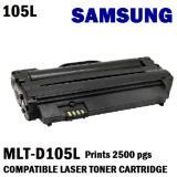 Buy Samsung Mlt D105L Compatible Black Laser Toner Prints 2500 Pages 5 Coverage Samsung Original