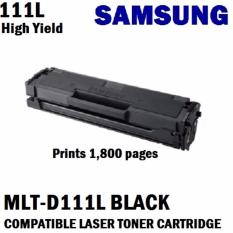 Sale Samsung Mlt D111L Prints 1 8K Pages 80 More Than Mlt D111S Which Is 1000 Pages Only Black Compatible Laser Toner Cartridge Samsung