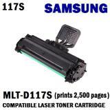Samsung Mlt D117S Compatible Black Laser Toner Prints 2500 Pages 5 Coverage Discount Code