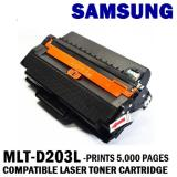 Where To Shop For Samsung Mlt D203L Compatible Black Laser Toner Prints 5000 Pages 5 Coverage