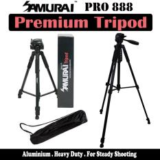 Retail Price Samurai Pro 888 Premium Dslr Tripod