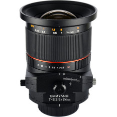 Review Samyang 24Mm F3 5 Ed As Umc Tilt Shift For Sony Alpha Singapore