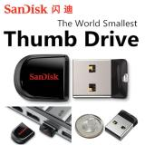 Top 10 Sandisk Cruzer Fit Series Thumbdrive 32G The World Smallest Usb Storage Fast Speed