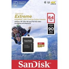 Buy Sandisk Extreme Micro Sdhc Class 10 64Gb Sdsqxne 064G Gn6Aa Singapore