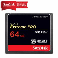 Get The Best Price For Sandisk Extreme Pro Compactflash Card 64Gb