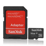 Discount Sandisk Micro Sd 16Gb Class 4 Sdhc Memory Card With Sd Card Adapter Export Sandisk