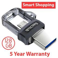 SanDisk Ultra Dual Drive M3.0 128GB USB 3.0 OTG Flash Drive