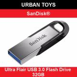 Best Offer Sandisk Ultra Flair Usb3 Flash Drive 32Gb Singapore Seller 5 Years Warranty By Sandisk High Speed Stylish Tough Password Protected
