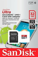 Top Rated Sandisk Ultra High Speed Micro Sd Class 10 32Gb Sdsqunc 032G Gn6Ma 80Mb S