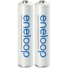Sanyo - Eneloop Rechargeable Aaa Batteries, Hr-4utgb2tm By Innova Sales.