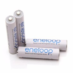 Sanyo - Eneloop Rechargeable Aaa Batteries, Hr-4utgb4tm By Innova Sales.