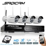 Get The Best Price For Saqicam 4Ch 1080P Hd Nvr Wireless Security Cctv Surveillance Systems Wifi Nvr Kit 4Pcs 2 0Mp Security Camera Outdoor Ip Camera Intl