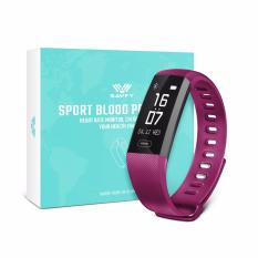 Compare Price Savfy Bluetooth Waterproof Smart Sport Blood Pressure Heart Rate Wristband Bracelet Touch Screen Smartwatch Fitness Band Pedometer On Singapore
