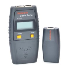 Latest Sc6106 1 5 Lcd Network Cable Tester Ash Black 4 X Aaa Intl