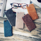 Price Iphone7 7Plus Simple Natural Leather Apple Business Card Holder Phone Case Oem New