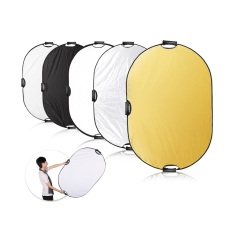Sale Selens 32X48 5 In1 Light Mulit Collapsible Portable Photo Light Reflector 80X120Cm With Bag Selens Wholesaler