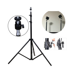 Selens 80 Inch Aluminium Alloy Tripod Stand With Ball Head For Vive Vr Intl Compare Prices