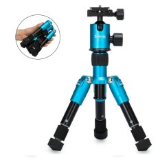Sale Selens Mini 7 18 Inch Portable Camera Tripod For Canon Nikon Sony Etc Cameras And Camcorders Blue Selens Branded
