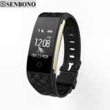 Wholesale Senbono S2 Sport Smart Band Wrist Bracelet Wristband Heart Rate Ip67 Waterproof Bluetooth Smartband For Iphone Android Intl