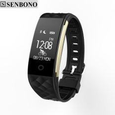 Sale Senbono S2 Sport Smart Band Wrist Bracelet Wristband Heart Rate Ip67 Waterproof Bluetooth Smartband For Iphone Android Intl Online China