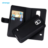 Buy Sfor Samsung Galaxy S5 Multi Function Zipper Wallet Case Removable Pu Leather Phone Cover Bag For Samsung S5 With Card Holder Black Intl China