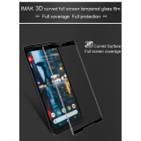 Great Deal Sg Google Pixel 2 Xl Imak 3D Full Face Coverage Thin 9H Tempered Glass Screen Protector