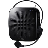 Shidu S511 15W Voice Amplifier Portable Rechargeable Loudspeaker Microphone Pa System Support Tf Card U Flash Disk Mp3 Format For Tour Guides Teachers Speaker Instructors Emcees Black Intl Price