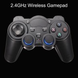 Shirlin 2 4Ghz Wireless Game Controller Gamepad Joystick For Android Tv Box Pc Black Intl Price Comparison