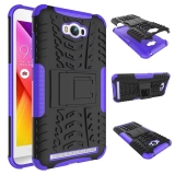 Cheapest Shockproof Kickstand Case Cover For Asus Zenfone Max Zc550Kl Purple Online