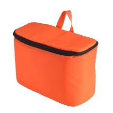 Latest Shockproof Portable Thickened Camera Bag With Removable Partition Protection Case Orange Intl