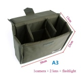 Buy Cheap Shockproof Slight Waterproof Dslr Camera Partition Padded Camera A3 Insert Bag Intl