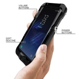 Review Shockproof Waterproof Protector Cover Case Skin For Samsung Galaxy S8 5 8Inch Bk Intl China