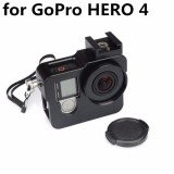 Sale Shoot Multifunctional Metal Aluminium Alloy Protective Frame Housing Case Cover Cage Shell Accessories For Gpro Hero 4 Black Intl Shoot Branded