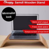 How Do I Get Shoppy Samdi Wooden Monitor Laptop Imac Macbook Stand