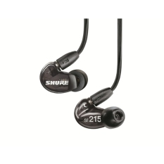 Price Shure Se215 Single Dynamic Microdriver Sound Isolating In Ear Earphones Black Export Hong Kong Sar China