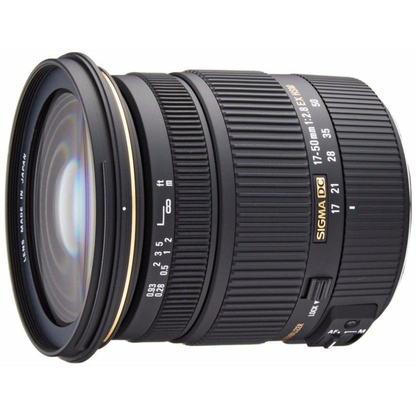 Sale Sigma 17 50Mm F 2 8 Ex Dc Os Hsm Fld Large Aperture Standard Zoom Lens For Canon Digital Dslr Camera Intl Sigma Online