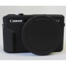 Price Silicone Rubber Camera Case Bag Cover For Canon Powershot G7X Mark 2 G7X Ii G7X2 G7Xii Camera Intl On China