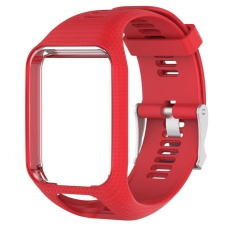 Compare Silicone Watchband Frame Replacement For Tomtom Runner 2 Spark Spark 3 Intl