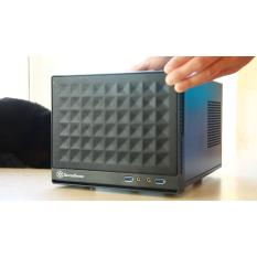 New Silverstone Sg13B Black Mesh Front Panel Steel Body Computer Case Compatible With Standard Atx12V Eps12V Power Supply