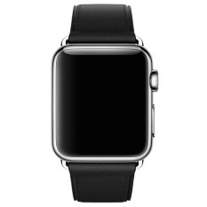 Price Single Tour Leather Band Bracelet Watchband For Apple Watch Series 3 38Mm Bk Intl Oem Online