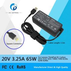 Siu Hong 20V 3.25A 65W Ac Laptop Power Adapter Charger For Lenovo Thinkpad X1 Carbon E431 E531 S431 T440S T440 X230S X240 X240S New Model