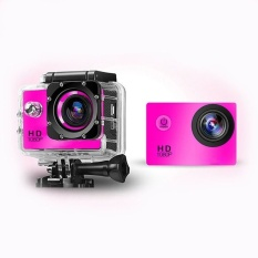Sj4000 Full Hd 1080P 12Mp Car Cam Outdoor Sports Dvactionwaterproof Camera Pink Intl Best Price