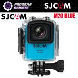 Buy Sjcam M20 4K 16Mp Sony Sensor1 5 Screen Gyro Wifi Waterproof Sports Action Camera Black Silver Red Or Blue Sjcam Original