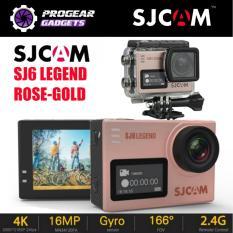 Buying Sjcam Sj6 Legend 4K 16Mp 2 Touch Screen Gyro Waterproof Sports Action Camera Black Silver Or Rose