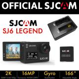 Sale Sjcam Sj6 Legend Dual Screen Action Camera Black Bundle